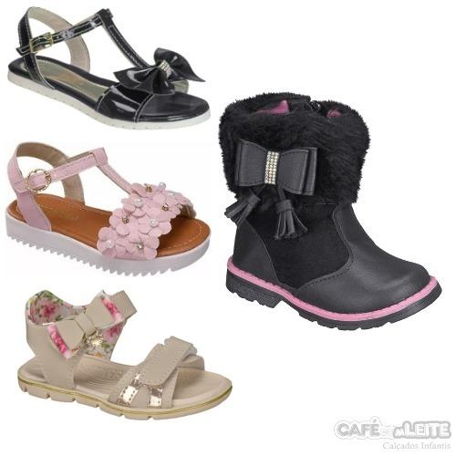 795a3959e Kit 4 Pares Calçados Infantil Menina - R$ 160,00 em Mercado Livre