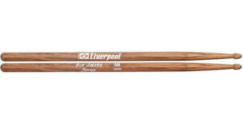 kit 4 pares de baquetas + pad de estudo pad 12eva liverpool