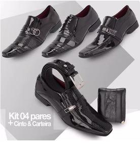 5213847e5b Sapato Social Khaata Masculino no Mercado Livre Brasil