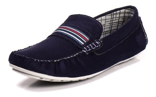kit 4 pares mocassim sapatilha masculino conforto frete grat