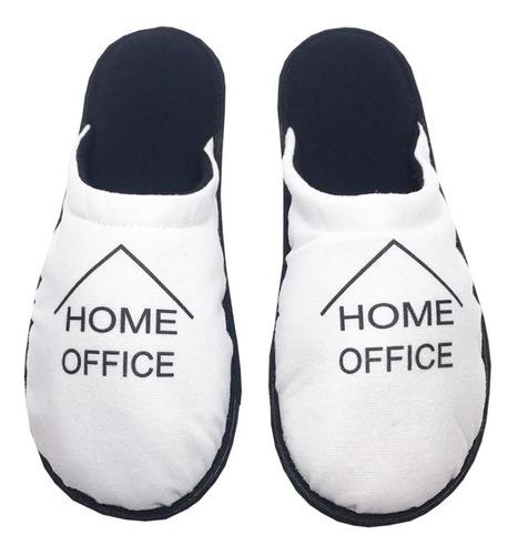 kit 4 pares pantufa 1027 home office sua logo personalizada