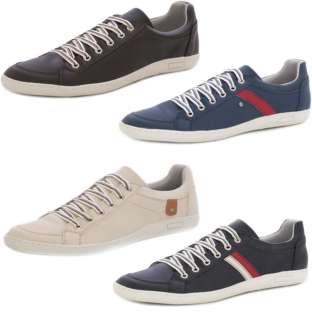 ea956b4350d kit 4 pares sapatênis tênis sapato masculino imperdível. Carregando zoom.