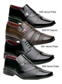48394f8a5 Sapato Social Masculino Tamanho 45 - Sapatos para Masculino 45 com o  Melhores Preços no Mercado Livre Brasil