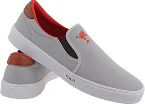 bff671a2c01 Kit 4 Pares Tenis Polo Joy Slip On Tenis C  Cadarço Promoç