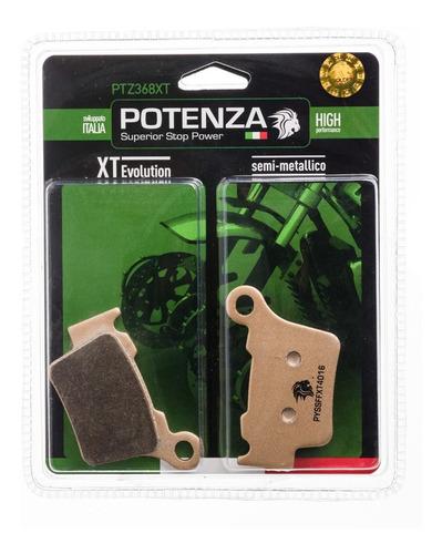 kit 4 pastilha freio potenza tras ktm ex250 exc450 ptz368xt
