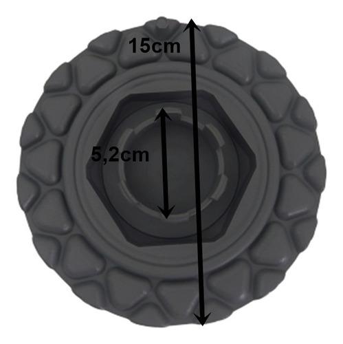 kit 4 pçs calota p/ roda bbs antiga aro 13 14 verm quadric