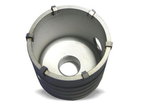 kit 4 pçs serra copo concreto videa com suporte sds 110mm