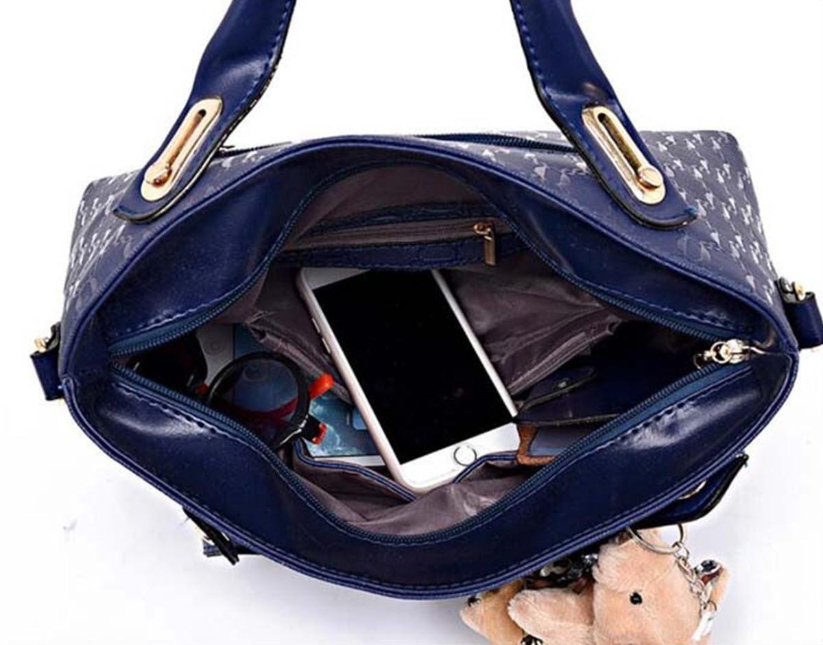 0a819b273 kit 4 pecas bolsa feminina vermelha pu + brinde envio imedia. Carregando  zoom.