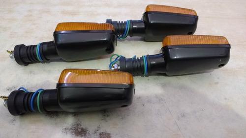 kit (4 peças) pisca seta yamaha rd 350 xt 600 tenere dt 200