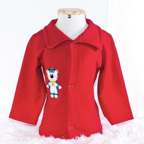kit 4 peças roupas de bebê