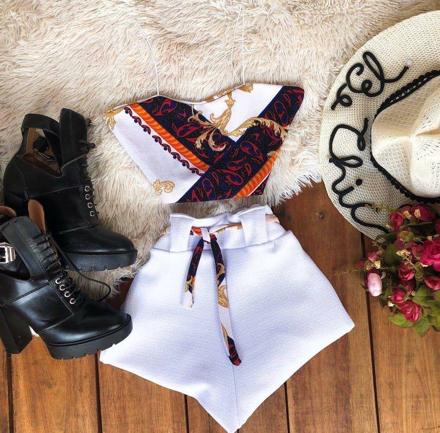 76cb1a54ba kit 4 peças variadas roupas femininas lindas e exclusivas. Carregando zoom.
