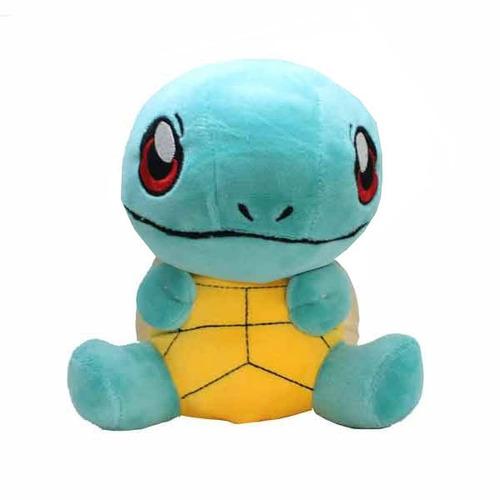 kit 4 pelucias pokemon pikachu charmander squirtle pokebola