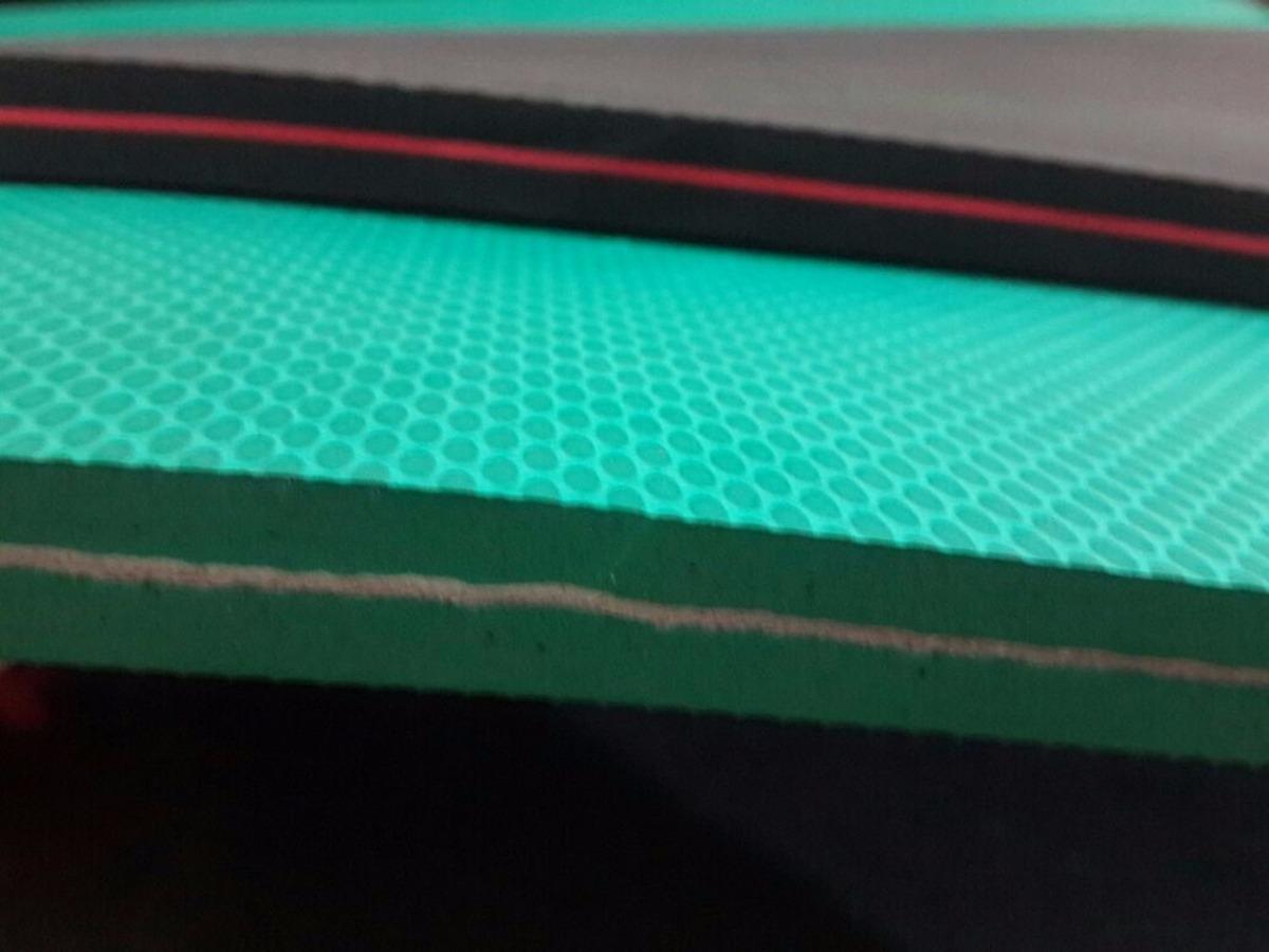 602f6f2cf4162a kit 4 placas de borracha microporosa para chinelos bicolor. Carregando zoom.