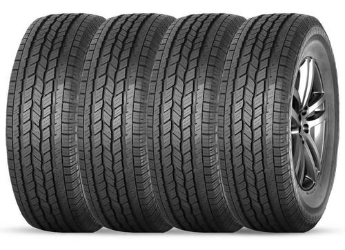 kit 4 pneu durable aro 16 265/75r16 116t rebok h/t