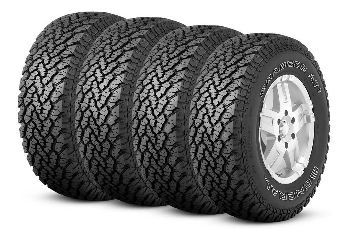 general tire grabber at2 pneus kit 75r15 109s pneu aro goodyear