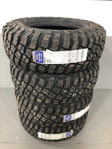 kit 4 pneus 265/75r16 bf goodrich mud-terrain km3