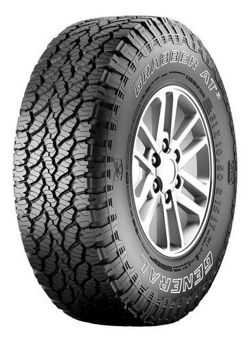 kit 4 pneus 265/75r16 general tire grabber at3 123/120s