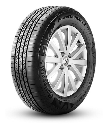 kit 4 pneus continental  aro 13 175/70r13 82t powercontact 2