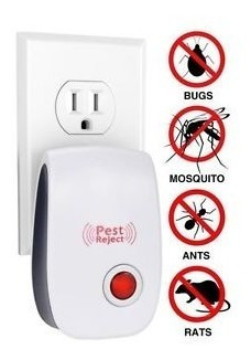 kit 4 por 3 - repelente eletrônico espanta insetos e ratos