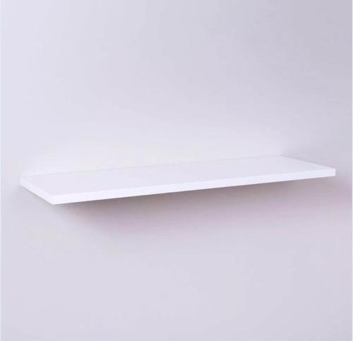 kit 4 prateleiras nicho mdf 100x20 branco 15mm 1 metro x20cm