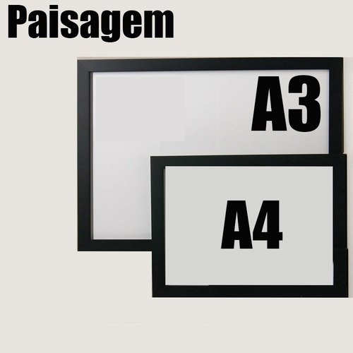 kit 4 pôsteres - a3 - papel adesivo - frete grátis
