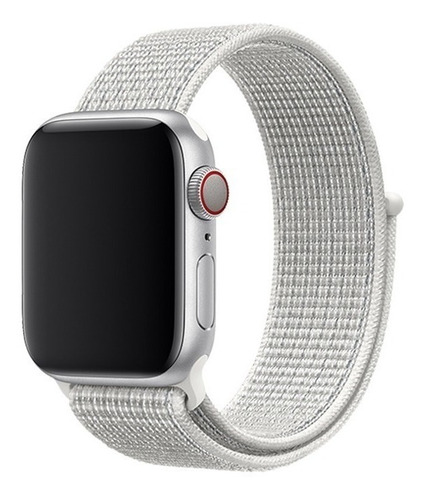 kit 4 pulseira nylon loop apple watch 42mm 44mm 38mm 40mm