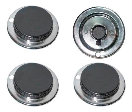 kit 4 quemadores sin guia estufa acros whirlpool quemador