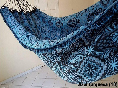 Kit 4 Rede De Dormir Descanso Casal Indiana + Brinde - R  195 00a9d361418