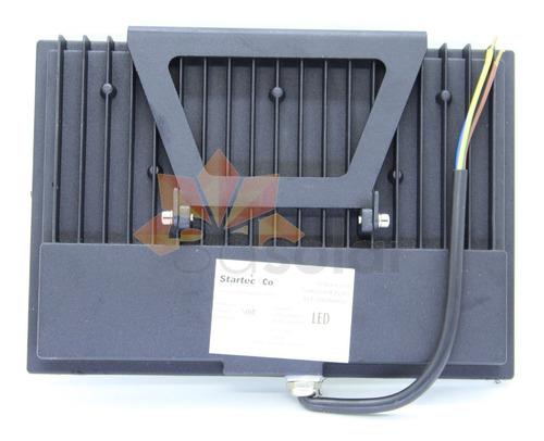 kit 4 refletor led smd 50w ip65 garantia 2 anos