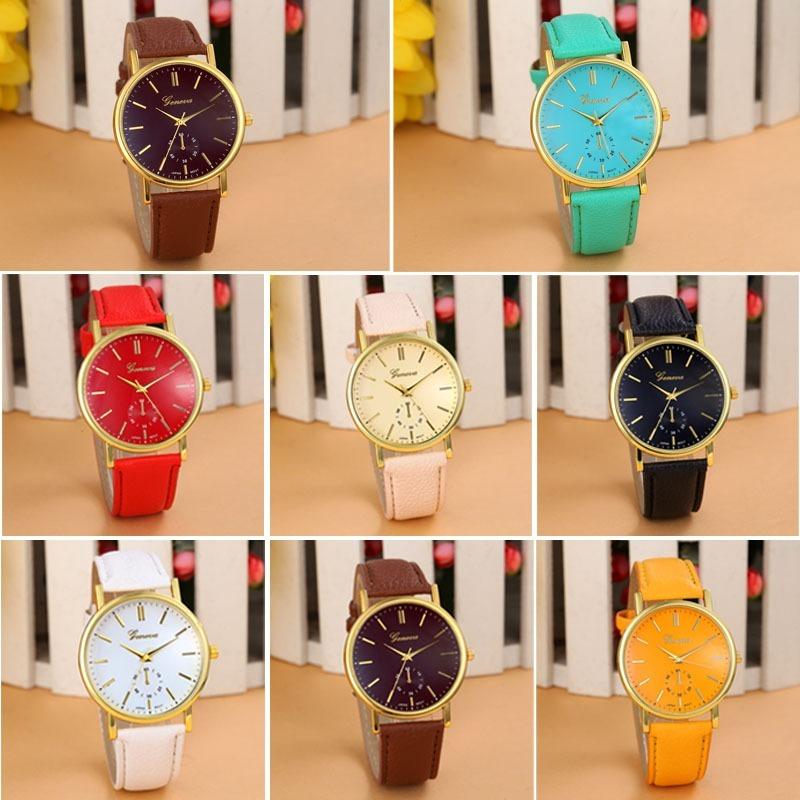 9047bbae764 kit 4 relógio feminino barato para revenda dourado atacado. Carregando zoom.