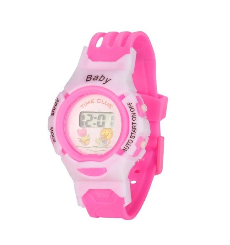bf1f06a06 kit 4 relógio infantil bichinhos digital menino menina. Carregando zoom.
