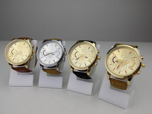 kit 4 relógios masculino spaceman