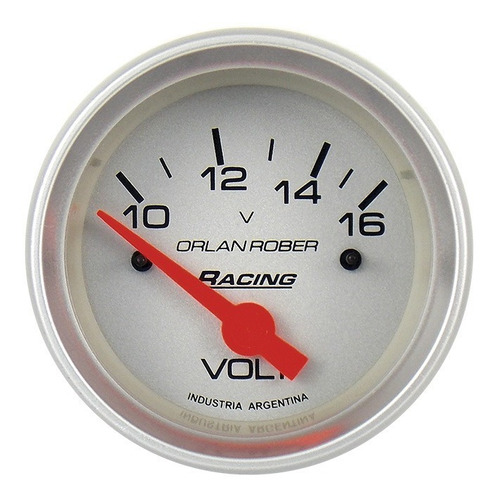 kit 4 relojes orlan rober aceite agua voltimetro nafta 66 mm