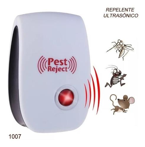 kit 4 repelente eletrônico ultrassônicoespanta ratos insetos
