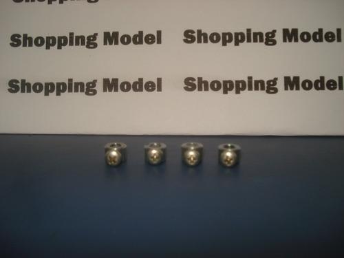 kit 4 retentor rodas para aeromodelo 4,1mm da shopping model