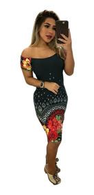 d565b195559f Vestido Amarra Na Frente Curto - Vestidos Curto com o Melhores Preços no  Mercado Livre Brasil