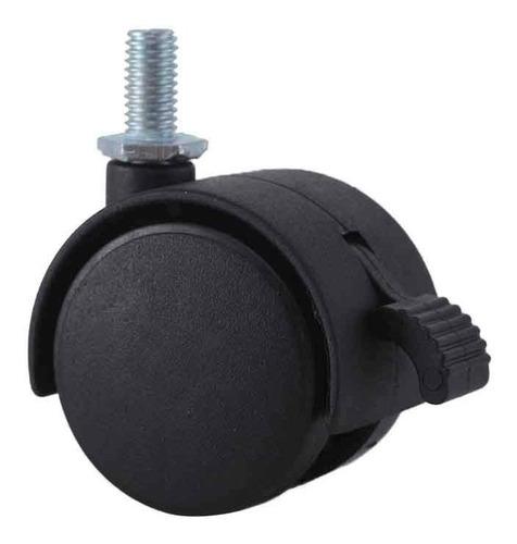 kit 4 rodízio giratório roda rodinha 50mm 80kg