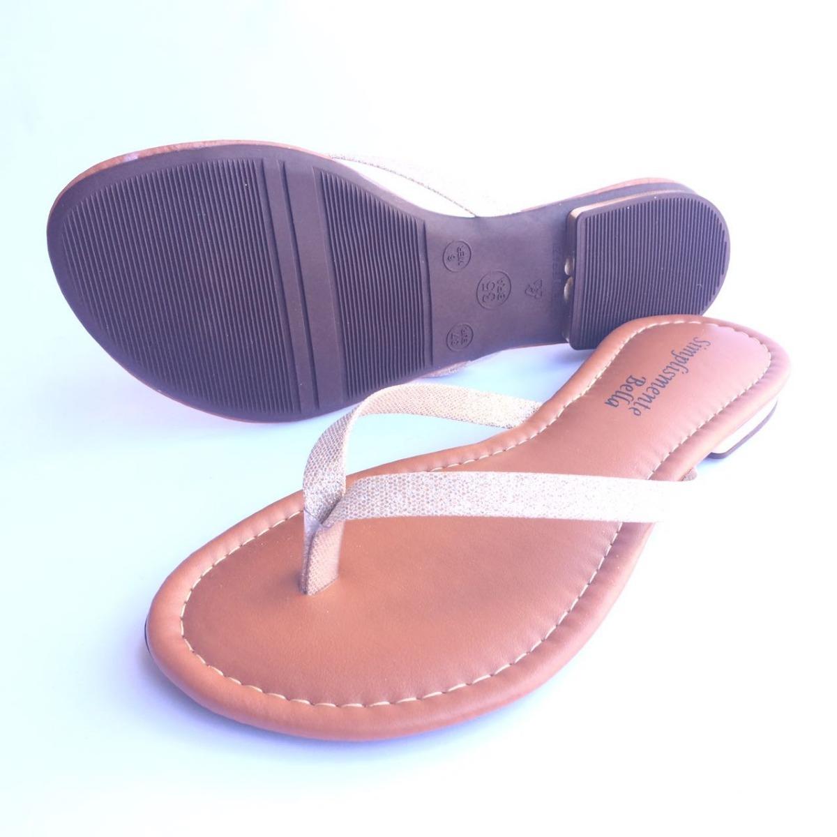 623df3ae60 kit 4 sandália feminina rasteira rasteirinha bella promoção. Carregando  zoom.