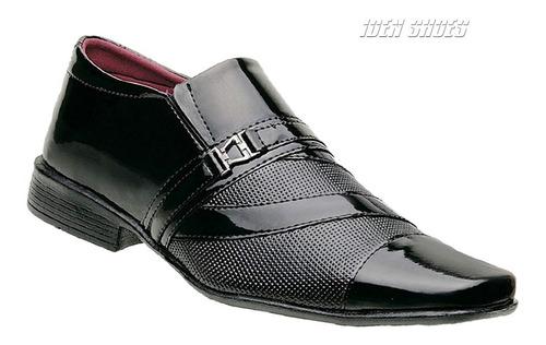 kit 4 sapatos social masculino *801/803/838/39* black friday