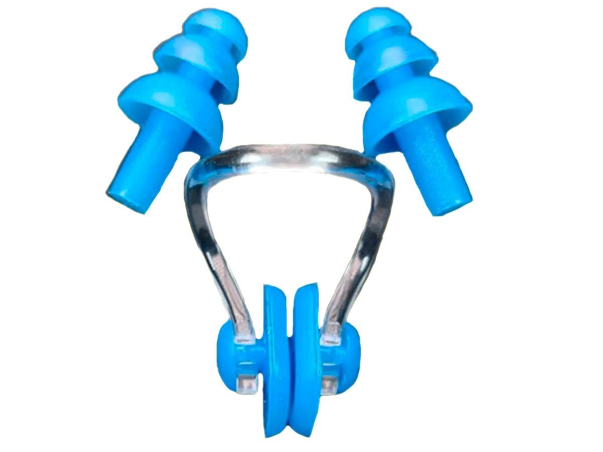 b82a8adac Kit 4 Tampões Proteção Auricular 2 Clipes Nasal Natação To14 - R  30 ...