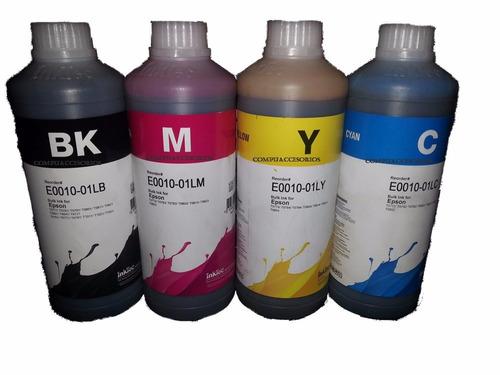 kit 4 tintas para epson l120 l200 l210 l300 l355 250ml c/u