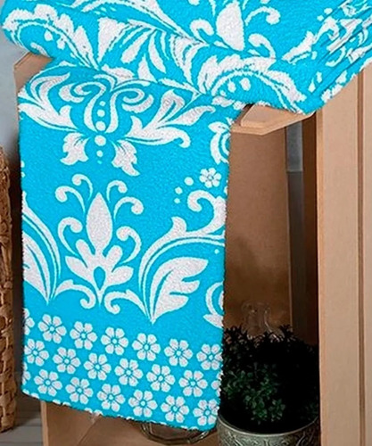 kit 4 toalhas lepper arabesco 2 banho 2 rosto 95% algodão