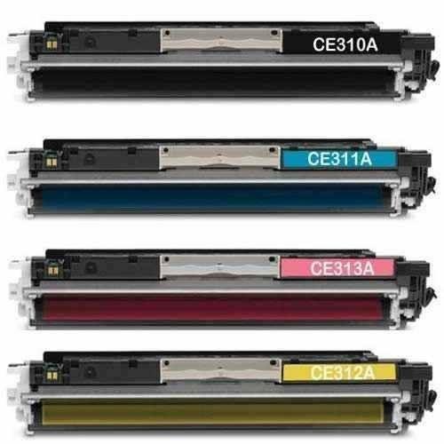 kit 4 toner laser jet ce310 311 312 313 126a cp1025