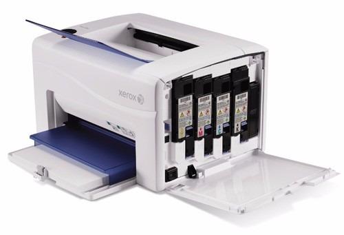 kit 4 toners coloridos impressora xerox phaser 6000/6001