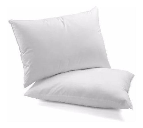 kit 4 travesseiros indeformável 50x70 - malha extra macio