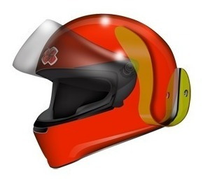 kit 4 unidades do suporte de parede para capacete moto
