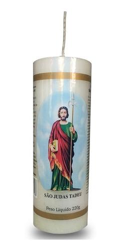 kit 4 velas votivas 7 sete dias são judas tadeu nv