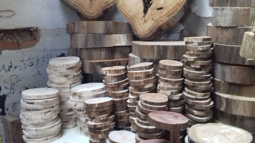 kit 40 bolachas madeira tronco casamento bandeja noiva tabua