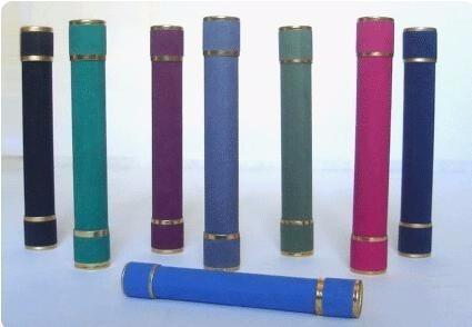 kit 40 canudos de formatura - camurça azul marinho