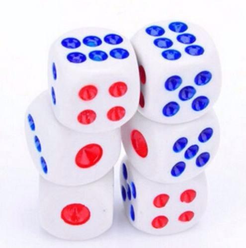 kit 40 dados jogos tabuleiros rpg dado enfeite oferta